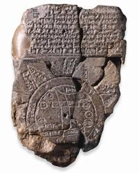 mapa del mundo babilonio