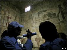 egipto frescos AFP