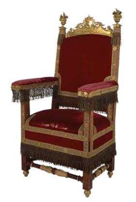 Tronos del mundo en versalles correo de las culturas del - Cuanto cuesta tapizar sofa ...