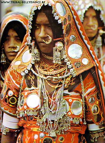 Gitanas banjara-tribe