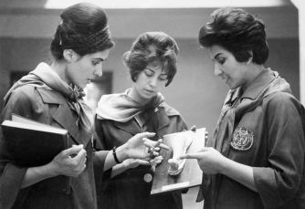 1962 estudiantes afganas de medicina